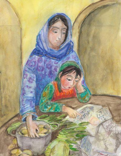 Alaya | Sinnige Geschichten M. Jaeckel | Illustrationen: S. Ledendecker