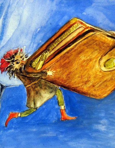 Eine geheimnisvolle Begegnung | Sinnige Geschichten Margarete Jaeckel | Illustrationen: S. Ledendecker