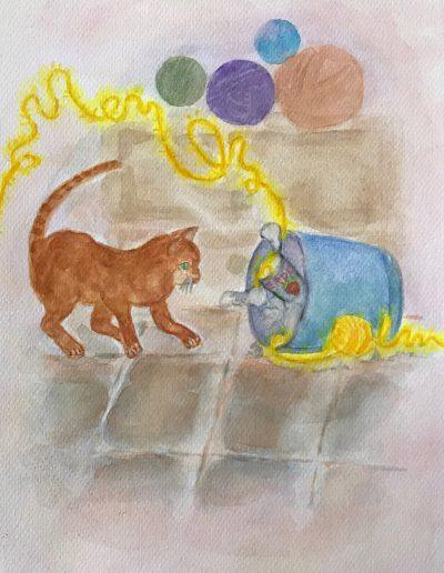 Verwirrt | Sinnige Geschichten M. Jaeckel | Illustrationen: A. R. Jung